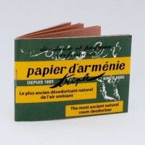 Papier D'Arménie Le Carnet